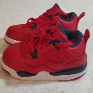 Nike Air Jordan 4 boys sz 7c